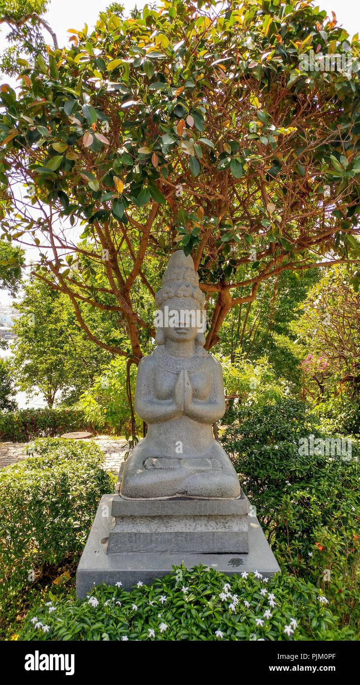 Buddha statue in Vietnam - Stock Image