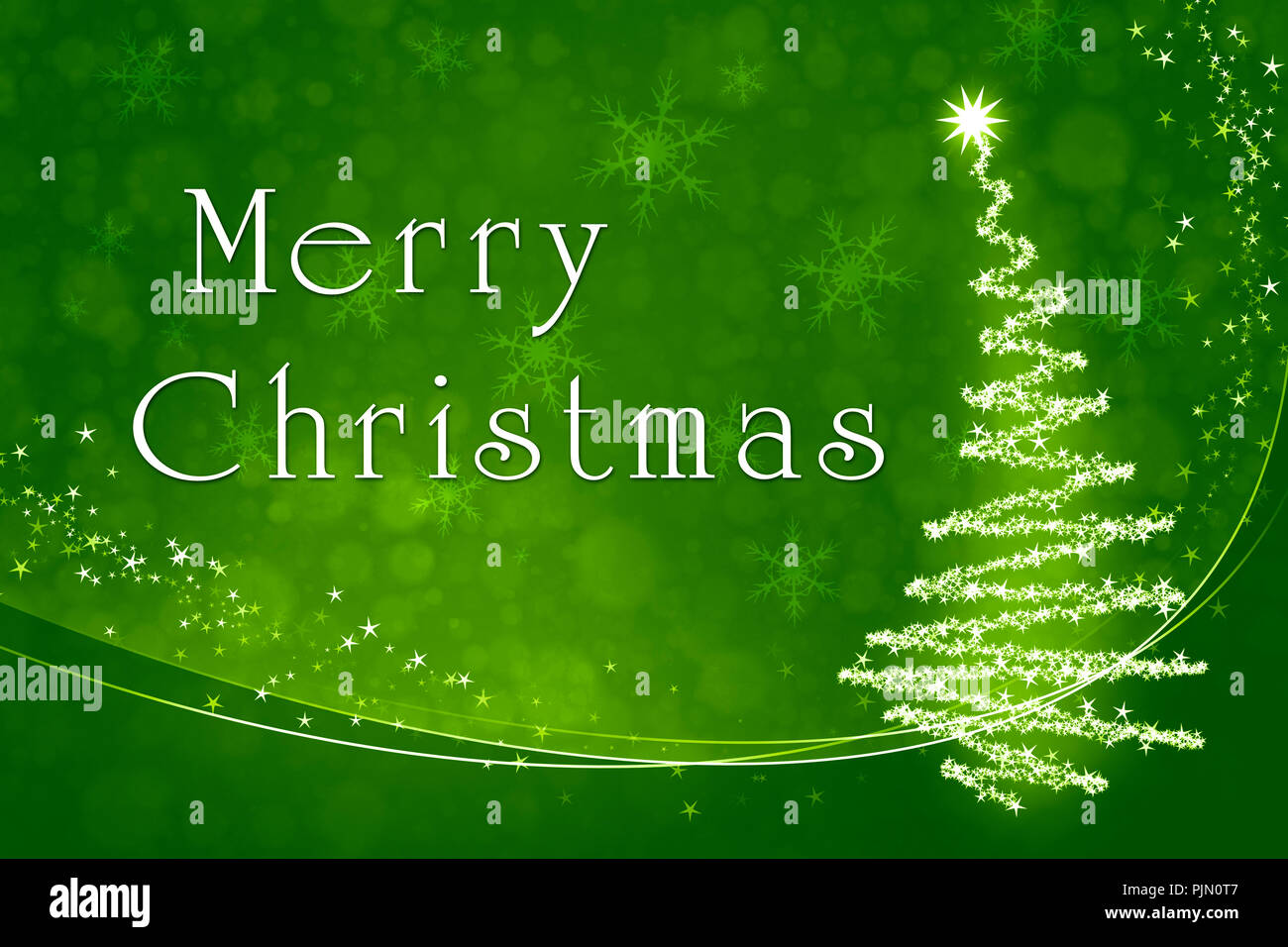 An image of a nice green merry christmas background Stock Photo ...