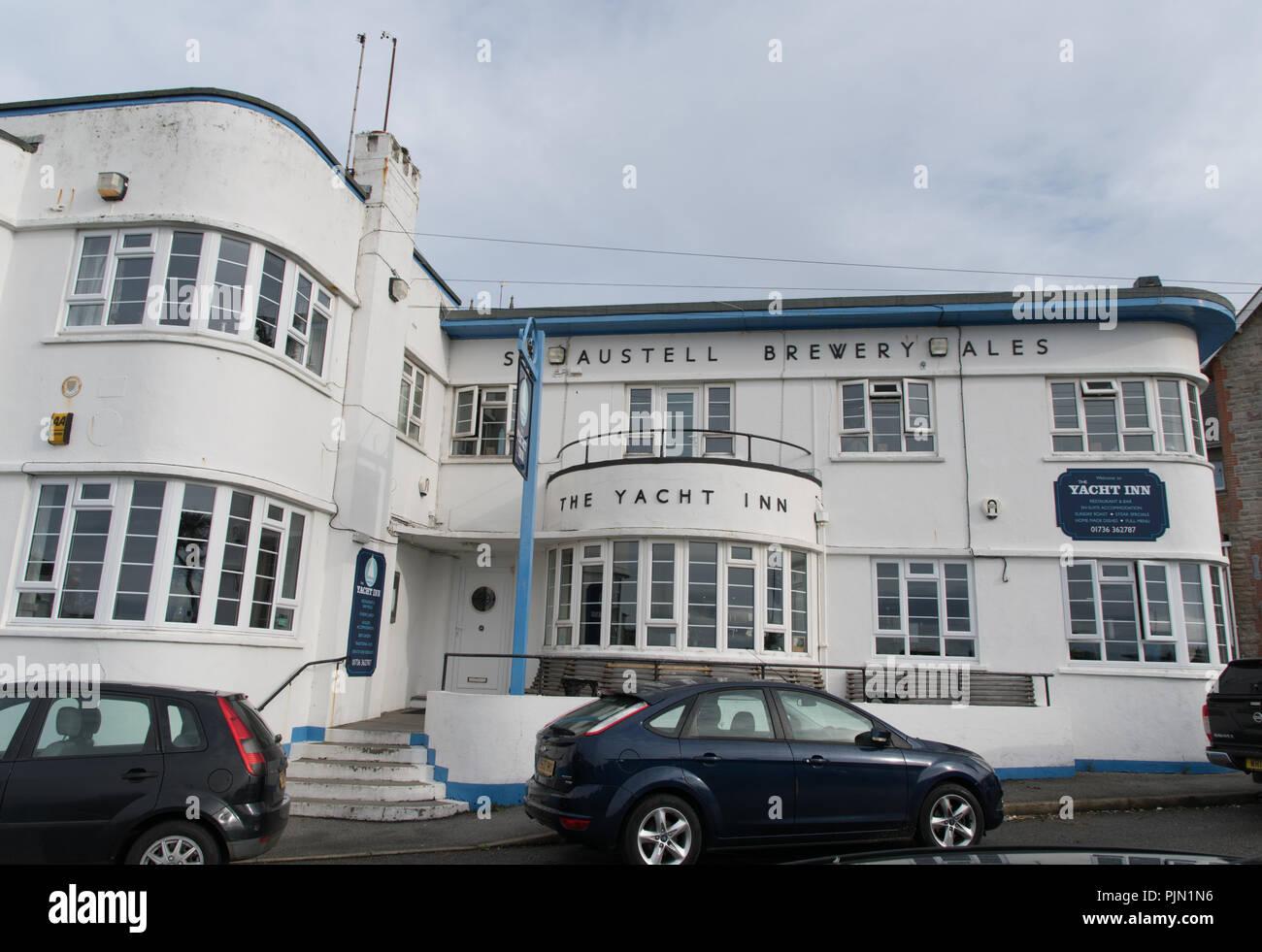 Yacht Inn at Penzance - Stock Image