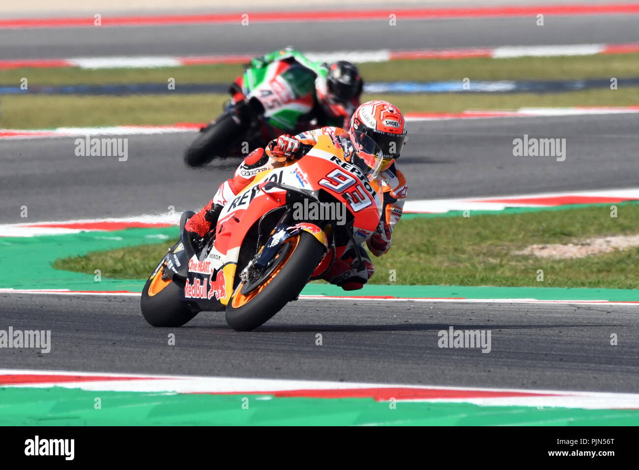 Misano Italy 08th Sep 2018 Motogp 2018 Misano Practice Session
