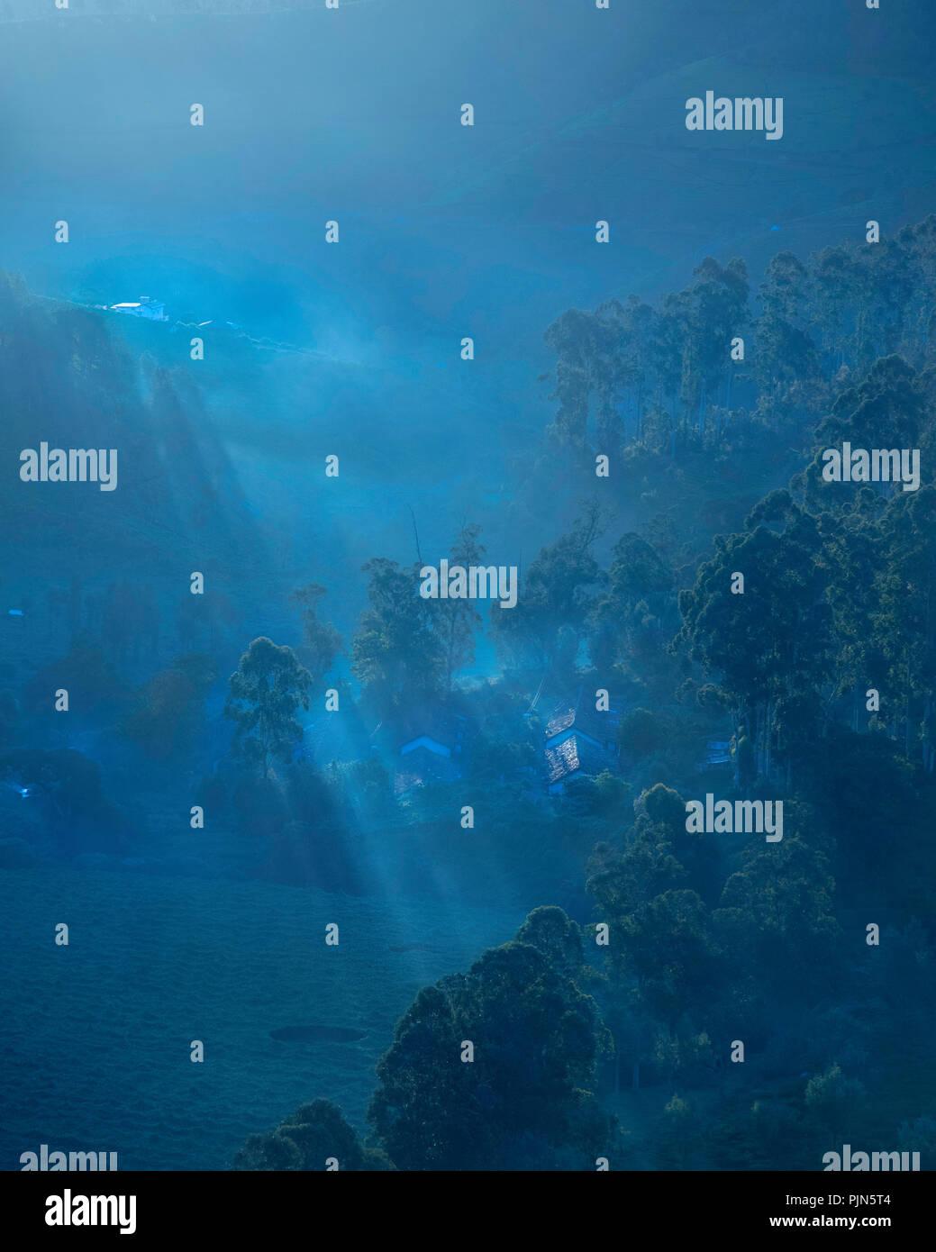 Nature Landscape Image Ooty - Stock Image