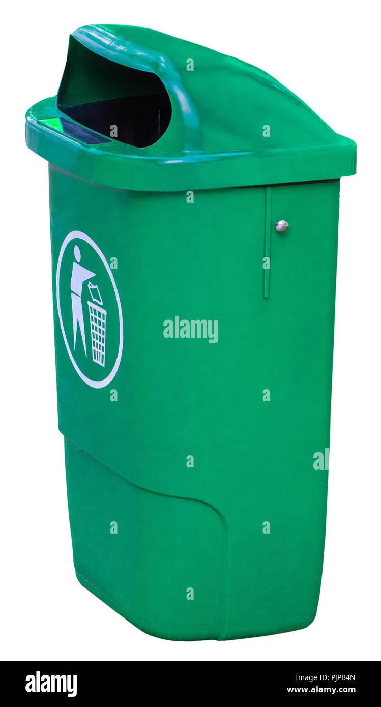 Green Dustbin Stock Photos & Green Dustbin Stock Images - Alamy