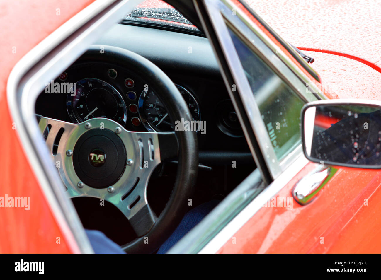 Classic TVR Tamar British sports car - Stock Image