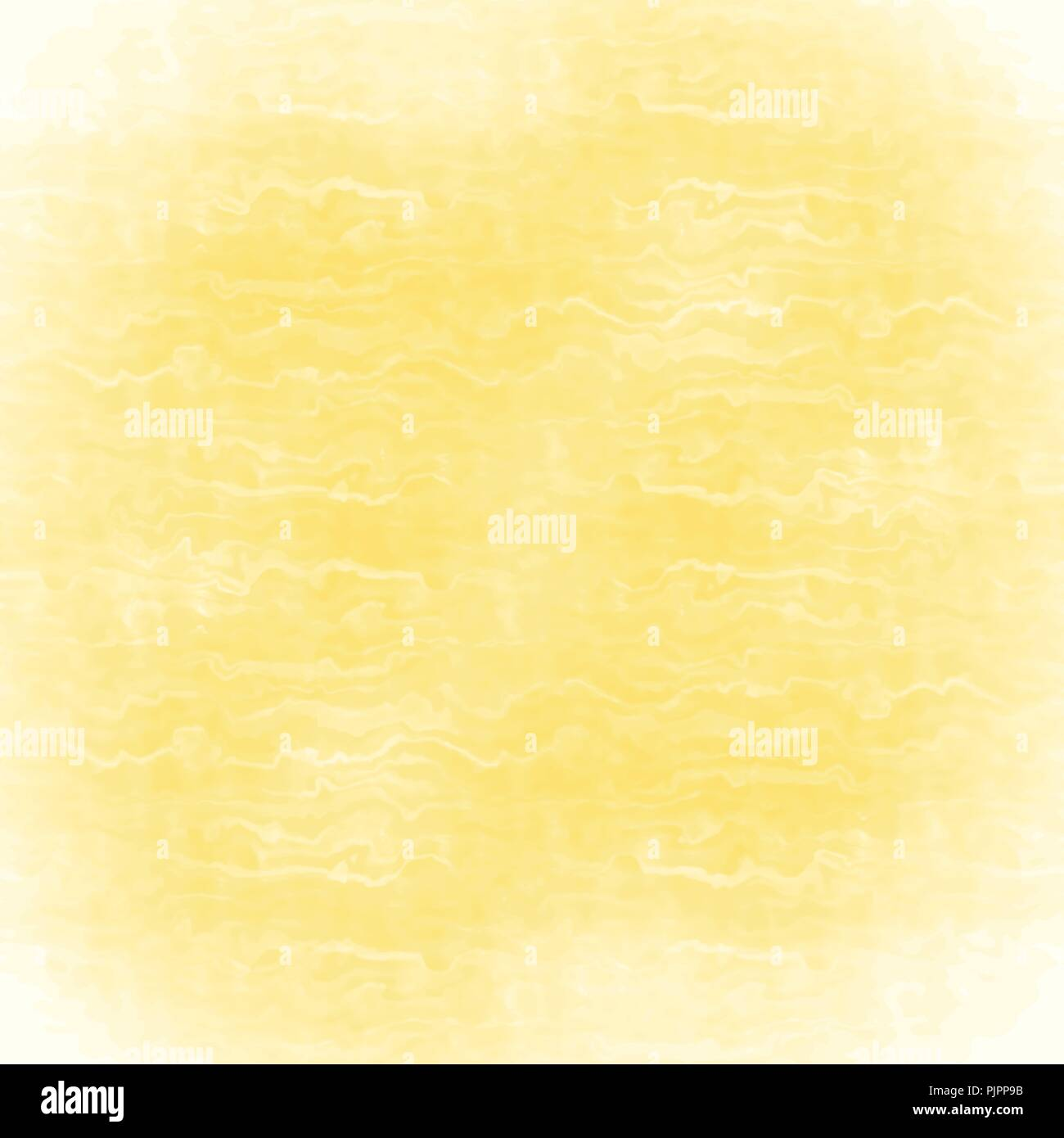 yellow watercolor animal skin structure background pattern, vector illustration - Stock Vector