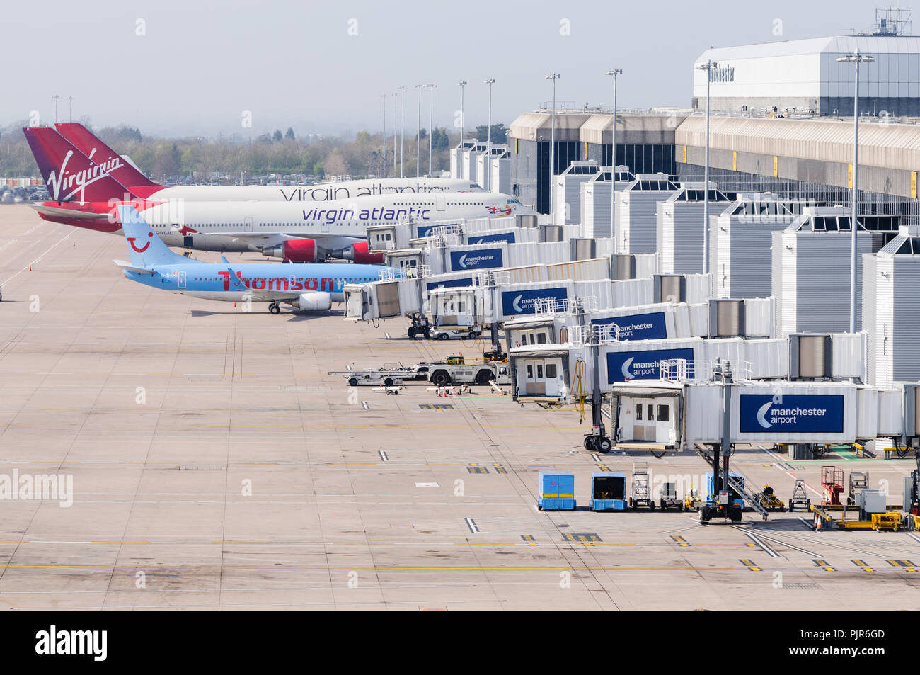 Manchester Airport Terminal Stock Photos Manchester Airport