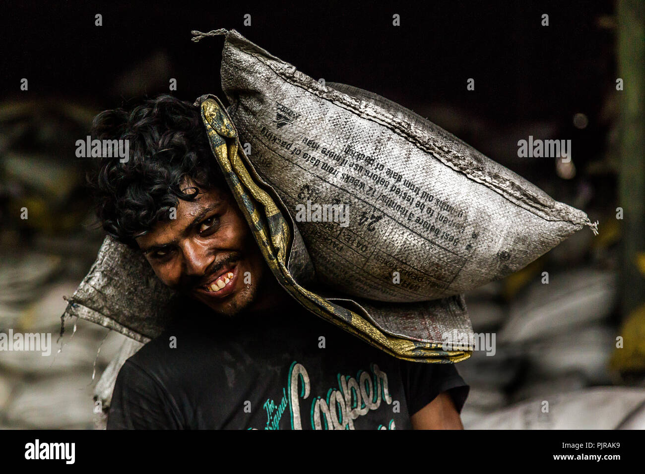 Foundry workers - Stock Image
