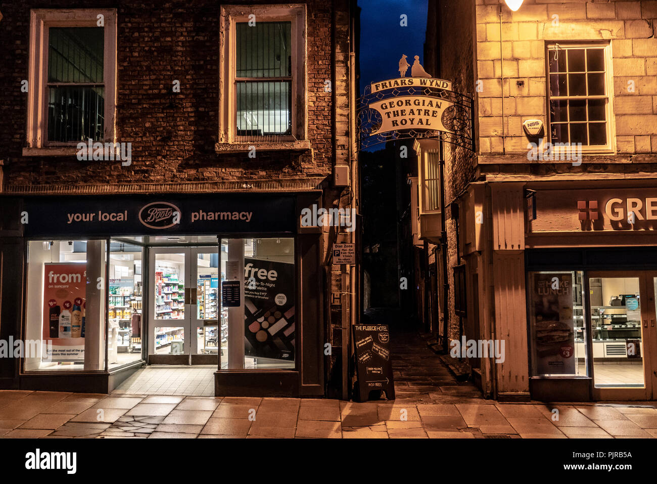 Richmond, Yorkshire - Stock Image