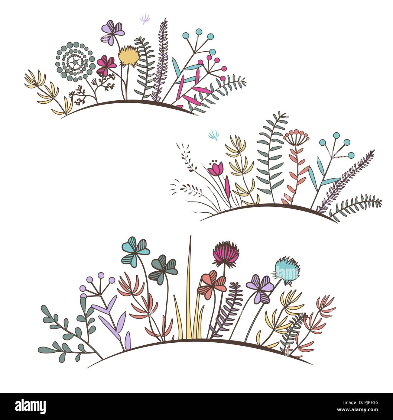 Flower Design Frames And Borders