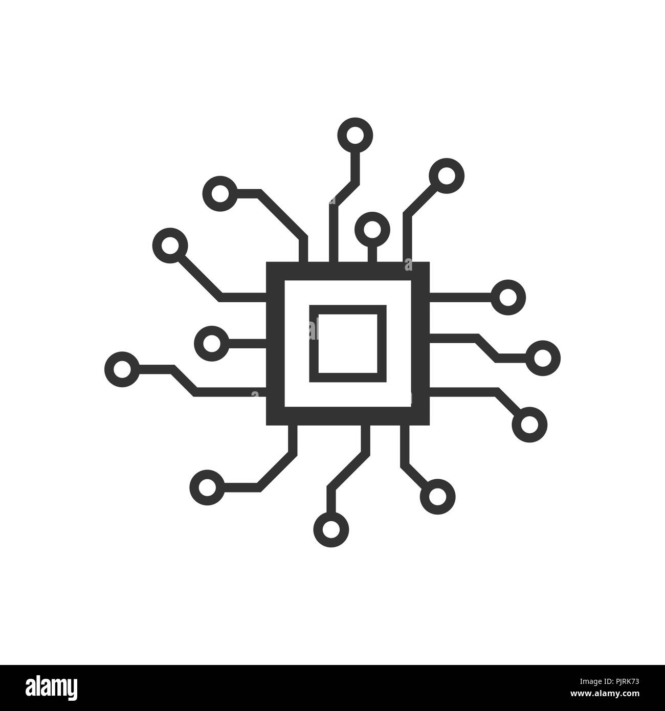 Printed Circuit Board Black and White Stock s & Page 2