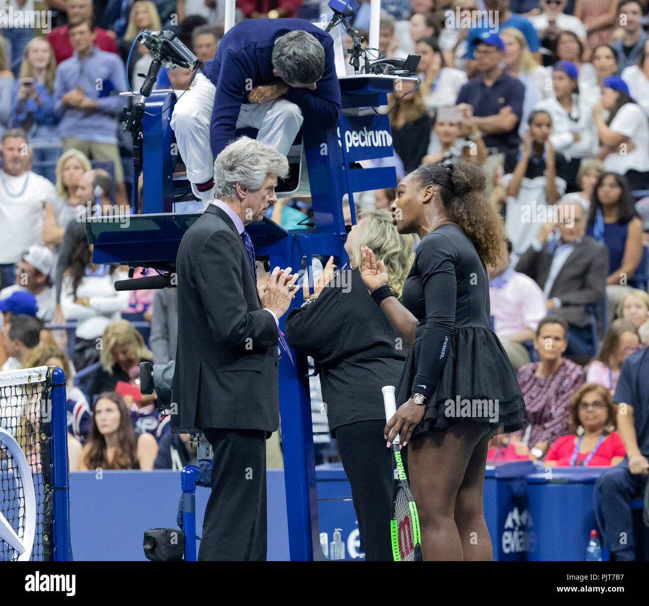 New York, United States  08th Sep, 2018  Serena Williams of