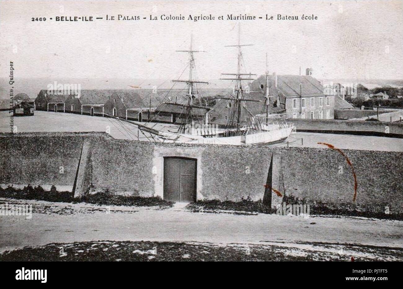 Belle-Ile 2469. - Stock Image