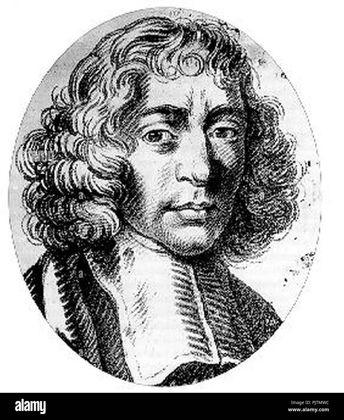 Baruch De Spinoza Stock Photo 218131464 Alamy