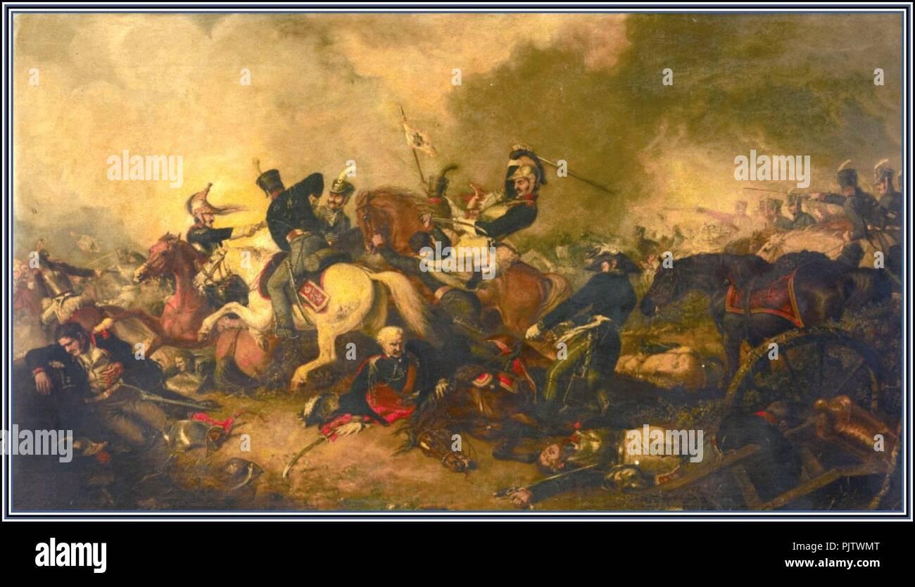 Battle of Ligny Cooper. - Stock Image