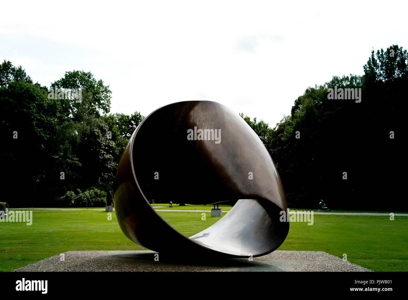 The Middelheim Museum In Antwerp An Open Air Museum Of Modern And Contemporary Sculptures Belgium 04 09 2008 Stock Photo Alamy