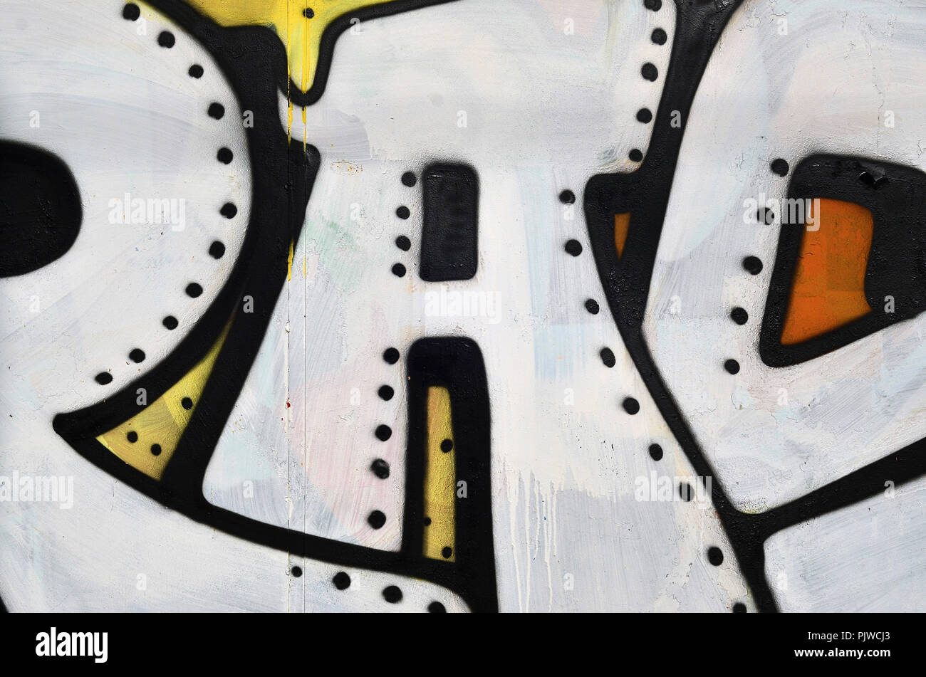 Beautiful Street Art Graffiti Abstract Color Creative