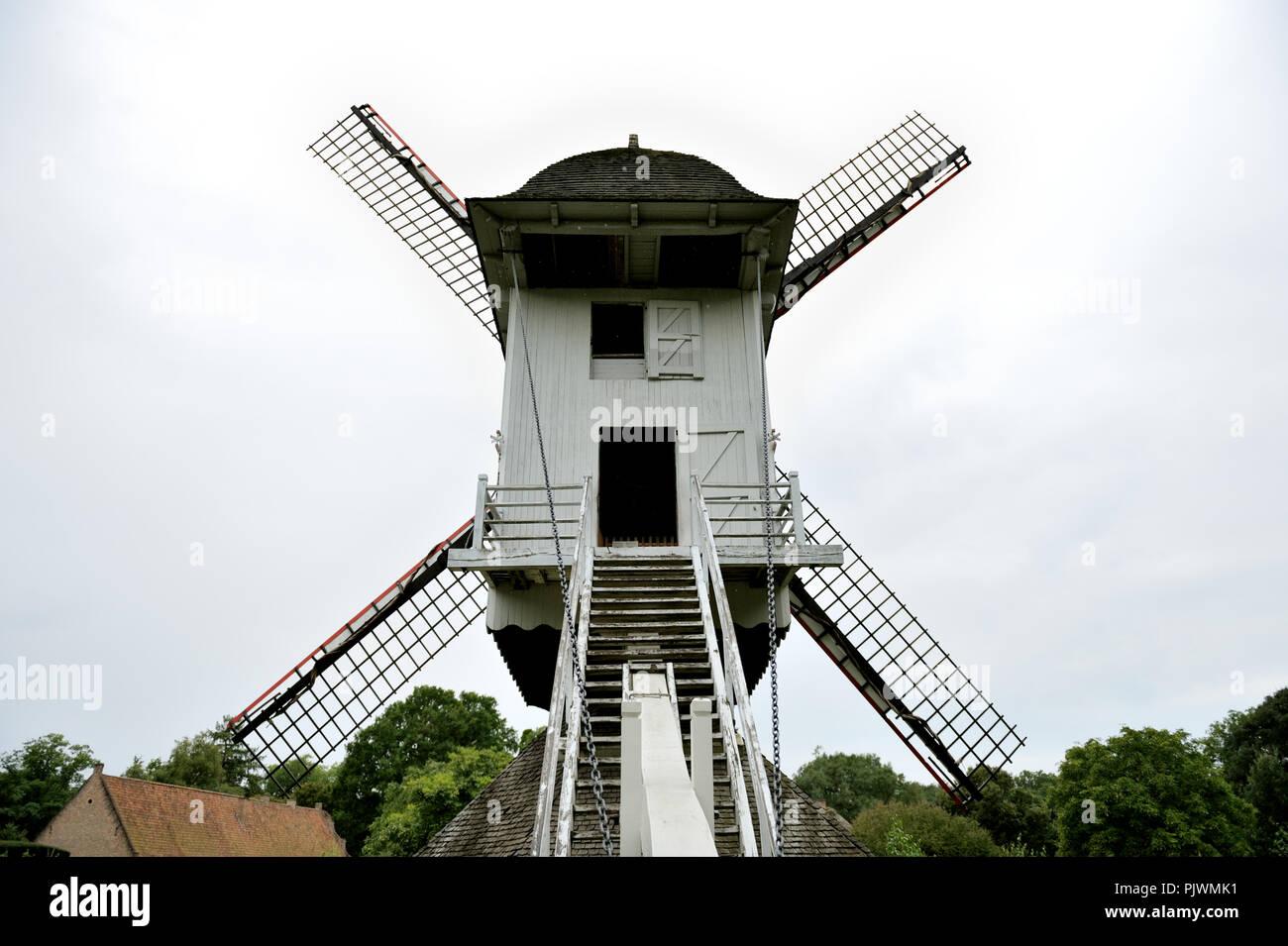 The Bokrijk open air museum in Genk (Belgium, 24/08/2008) Stock Photo
