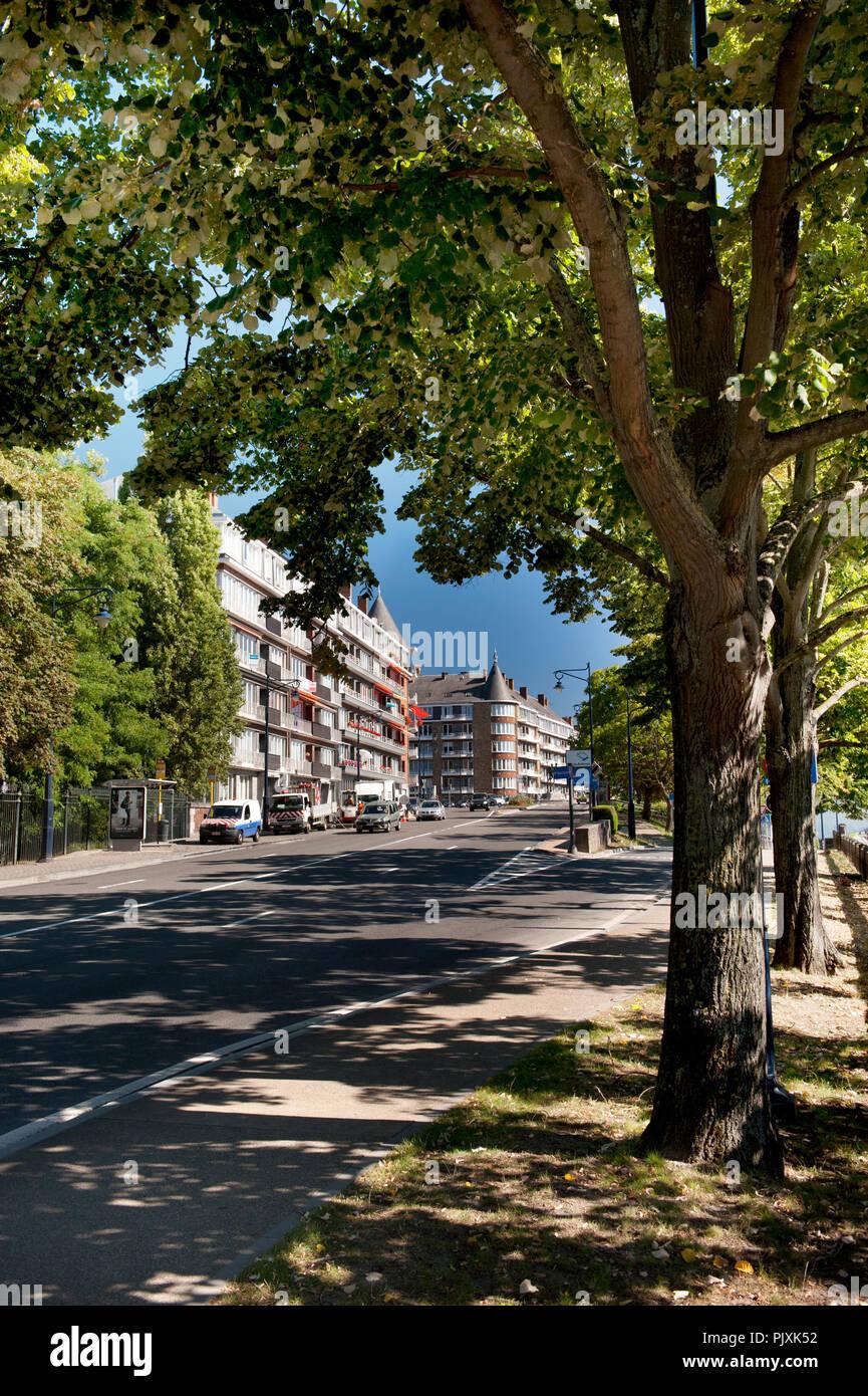 The Boulevard Isabelle Brunell in Namur (Belgium, 04/09/2013) - Stock Image