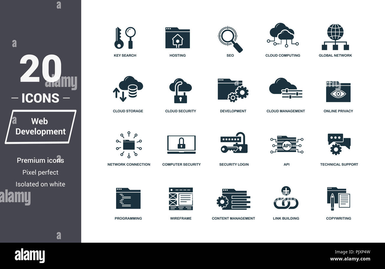 Insurance Icons Set Premium Quality Symbol Collection Web Development Icon Set Simple Elements Ready To Use In Web Design Apps Software Print Stock Photo Alamy