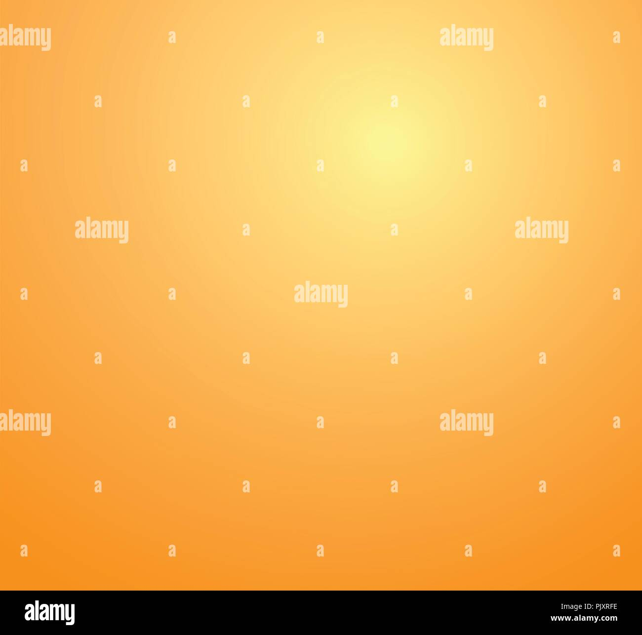 Yellow and Orange abstract studio room background. Vector Illustration. - Stock Vector