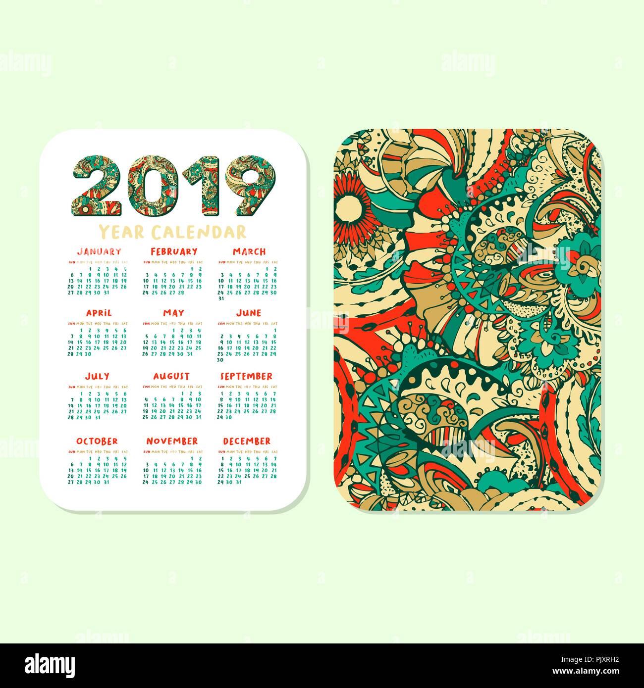 photograph regarding Printable Pocket Calendars named 2019 Pocket Calendar Inventory Images 2019 Pocket Calendar