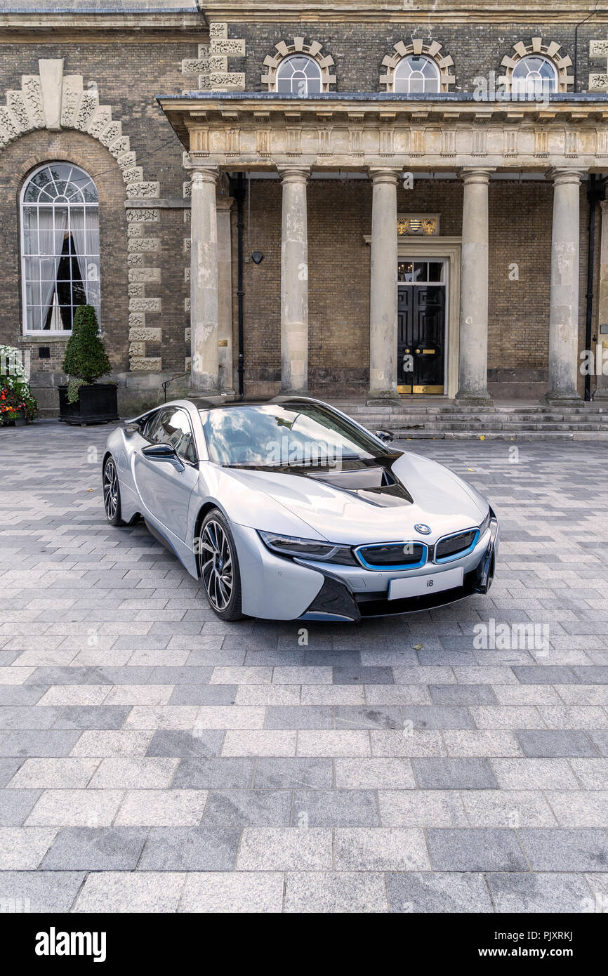 BMW i8 coupe - Stock Image