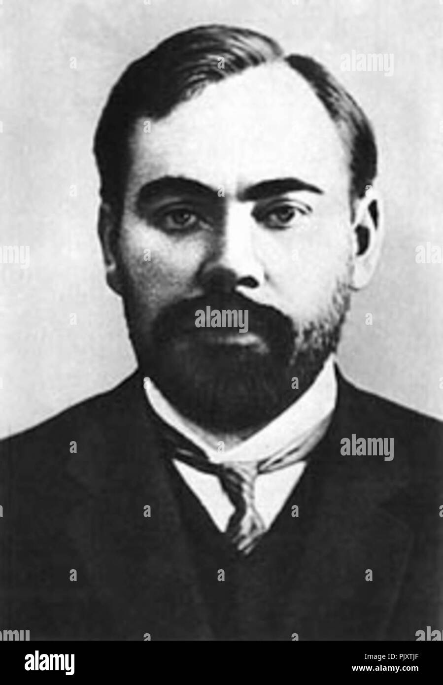 Bolshevik philosopher and writer Alexander Bogdanov (1873-1928), with whom Pokrovsky was closely associated during his years of European exile. - Stock Image