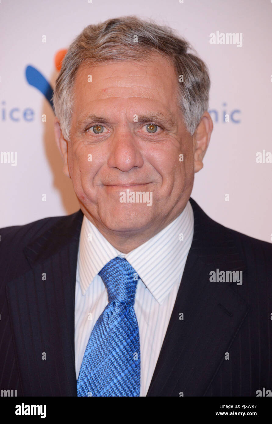 Leslie Moonves  at the Venice Family-2015 Clinic Silver Gala at the Beverly Wilshire Hotel in Los Angeles.Leslie Moonves   Event in Hollywood Life - C - Stock Image