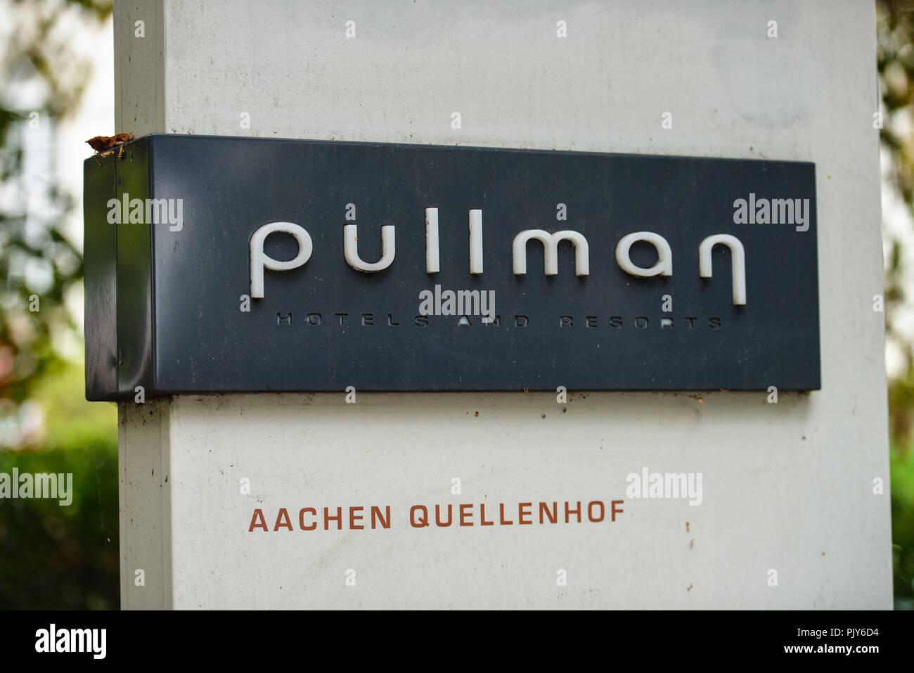 Hotel of Pullman spring court, avenue Monheims, North Rhine-Westphalia, Germany, Hotel Pullman Quellenhof, Monheimsallee, Nordrhein-Westfalen, Deutsch Stock Photo