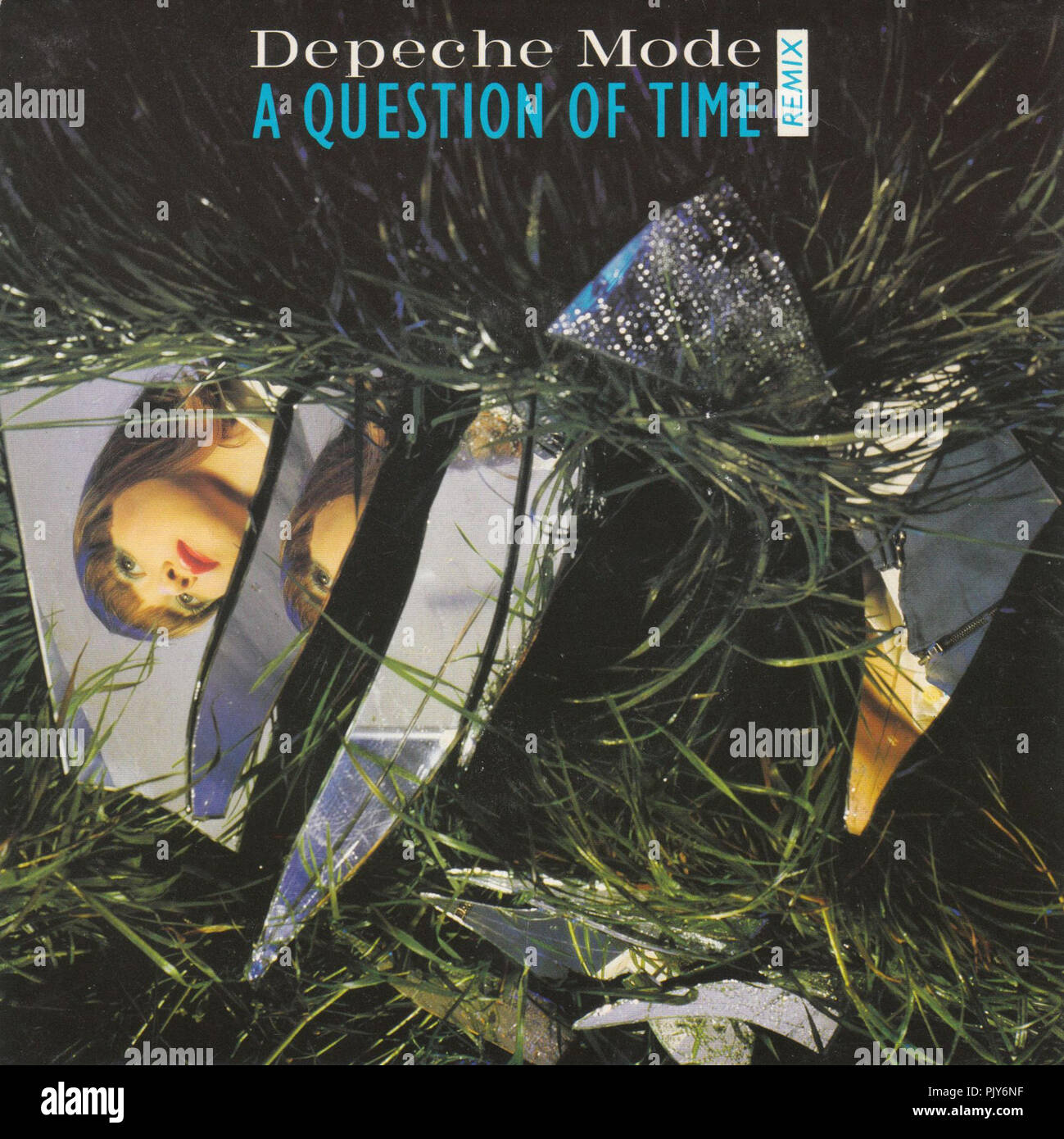 Depeche Mode -    A Question Of Time - Stock Image
