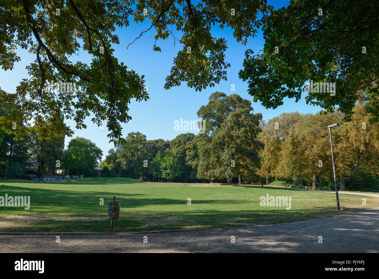 West park, Aachen, North Rhine-Westphalia, Germany, Westpark, Nordrhein-Westfalen, Deutschland Stock Photo