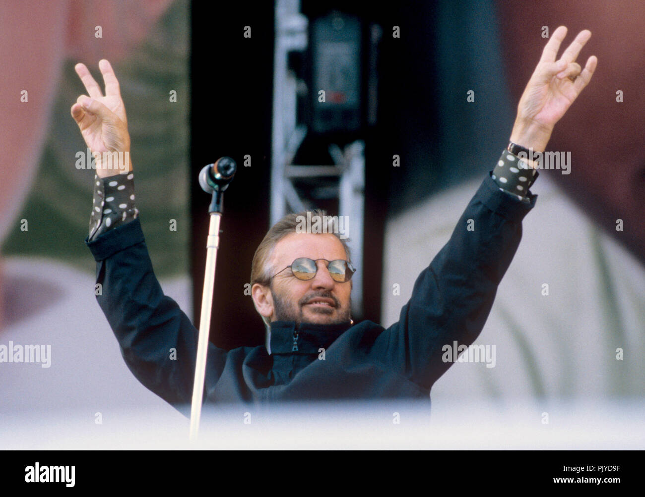 Ringo Starr (Michael Jackson and Friends) on 27.06.1999 in München / Munich.   usage worldwide - Stock Image