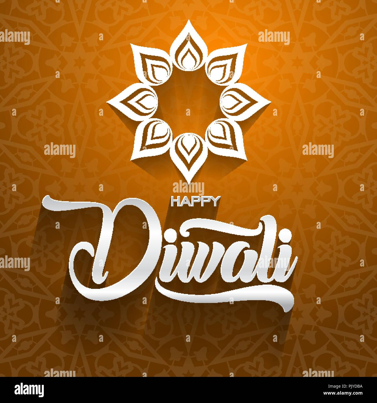 Happy diwali traditional indian festival greeting card with ornament happy diwali traditional indian festival greeting card with ornament background vector illustration m4hsunfo