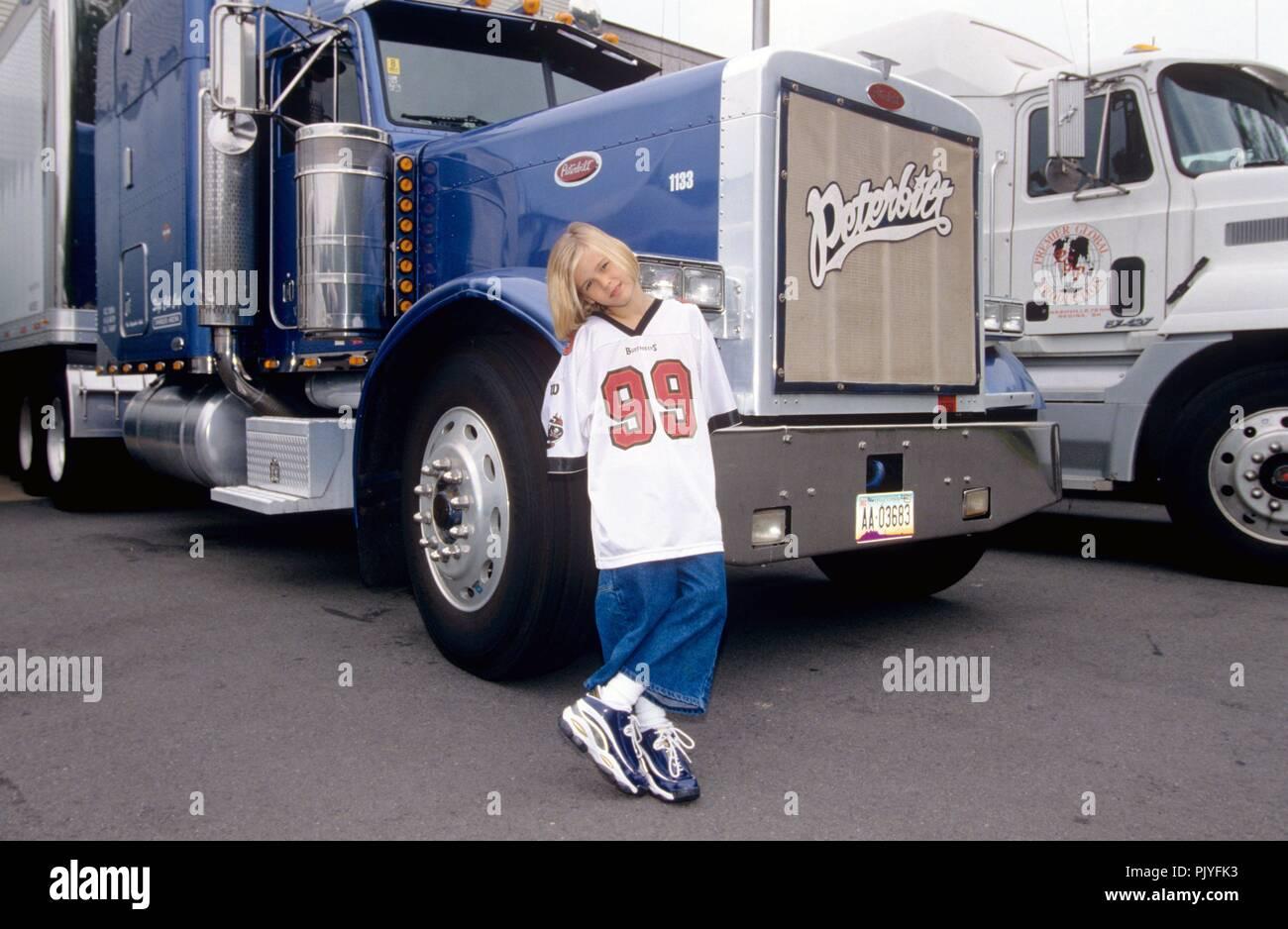 Aaron Carter on 15.07.1998 in Washington. | usage worldwide - Stock Image