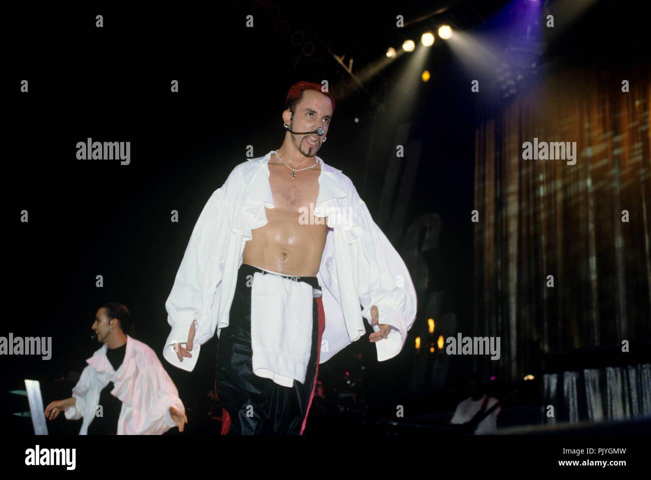 Alexander James McLean (Backstreet Boys) on 15.07.1998 in Washington. | usage worldwide - Stock Image