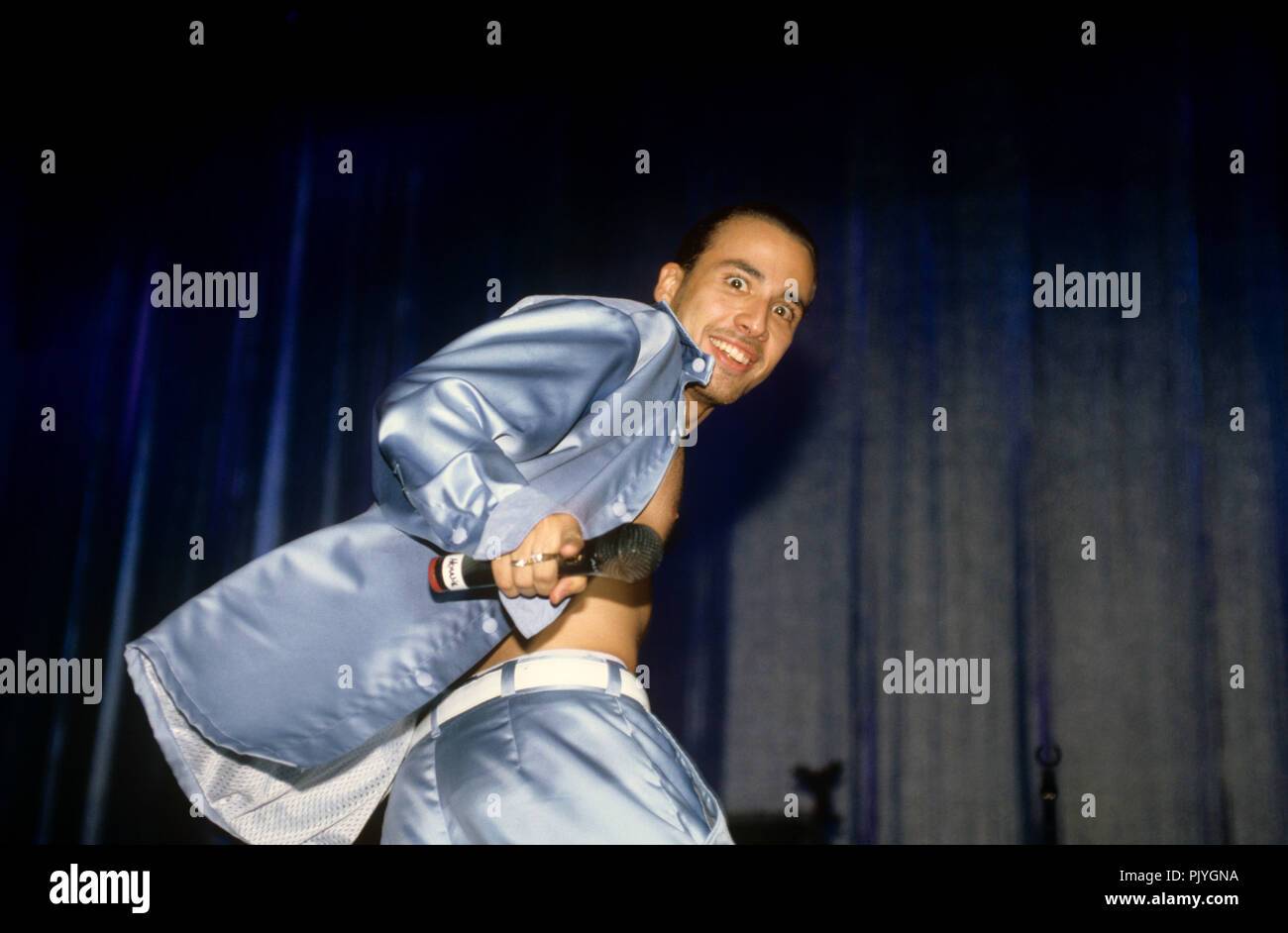 Howie Dorough (Backstreet Boys) on 15.07.1998 in Washington. | usage worldwide - Stock Image