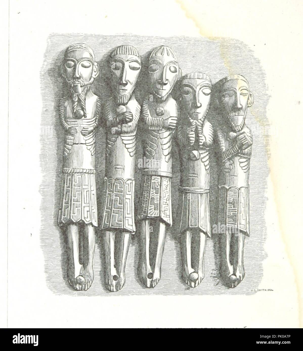 Image  from page 30 of 'The Church and Shrine of St. Manchán. [With woodcut illustrations.]' . - Stock Image