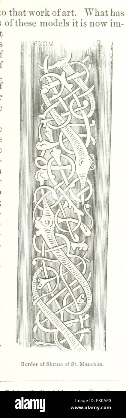 Image  from page 37 of 'The Church and Shrine of St. Manchán. [With woodcut illustrations.]' . - Stock Image