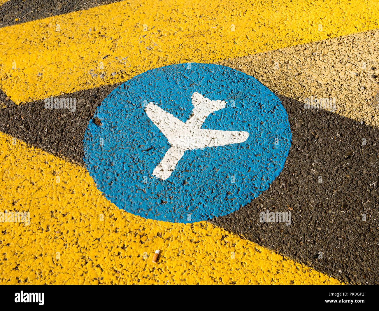 Abflug - Stock Image
