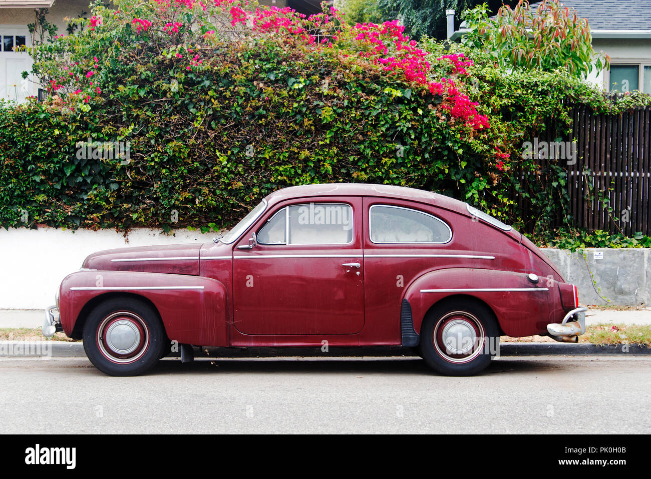 Automobile Design Stock Photos Images Alamy Volvo Pv444 Wiring Diagram Vintage Car Electrical A View Of Classic In Venice Beach California Image