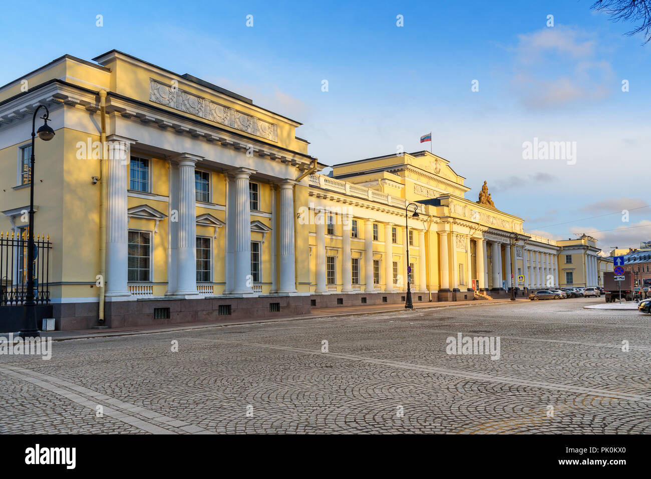 Russian Museum of Ethnography building in Saint Petersburg, Russia - Stock Image