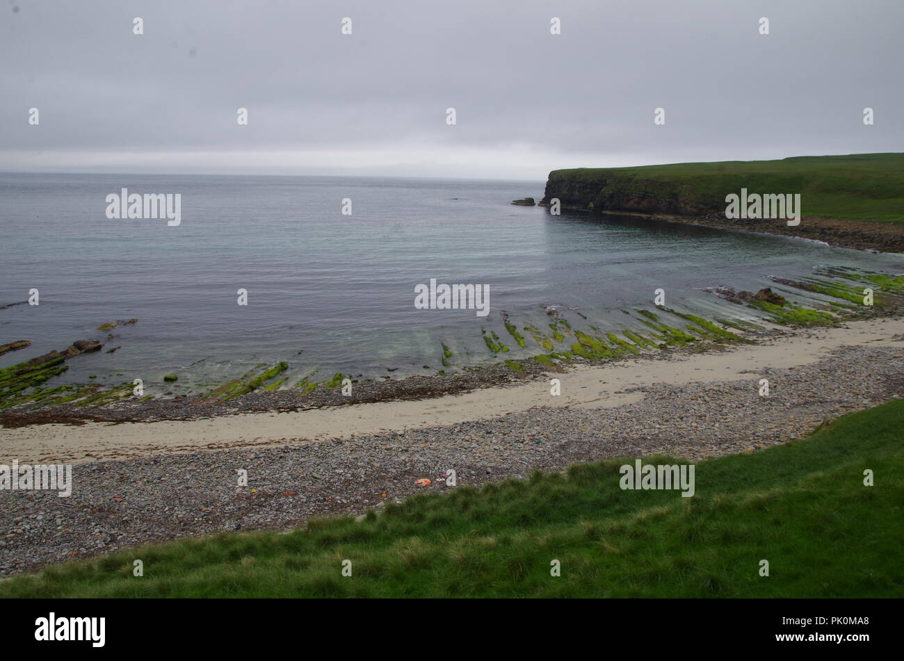 John o' groats (Duncansby head) to lands end. Cornwall. End to end trail. Caithness. Highlands. Scotland. UK - Stock Image