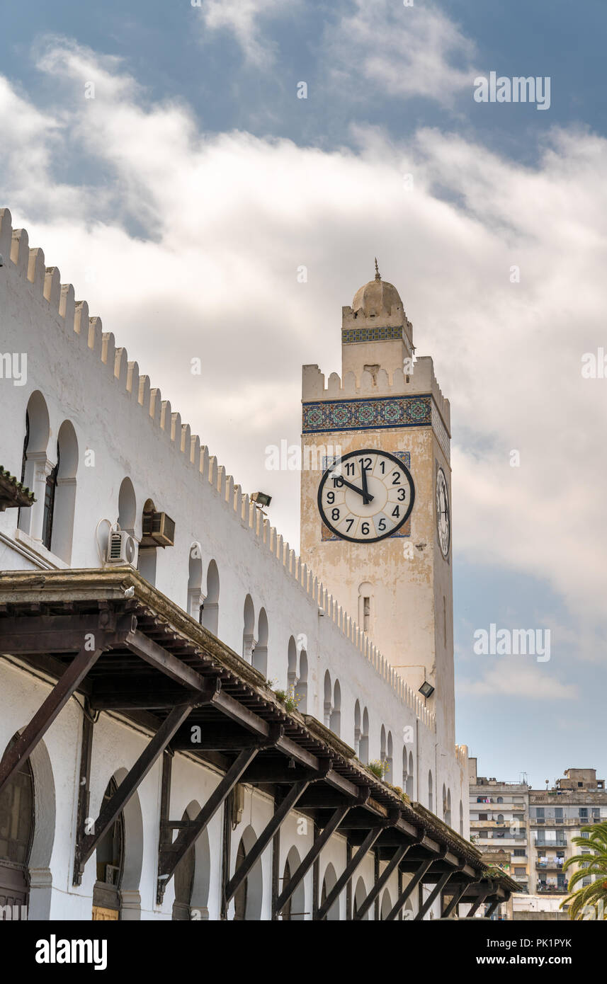 Oran Train Station in Algeria, North Africa - Stock Image