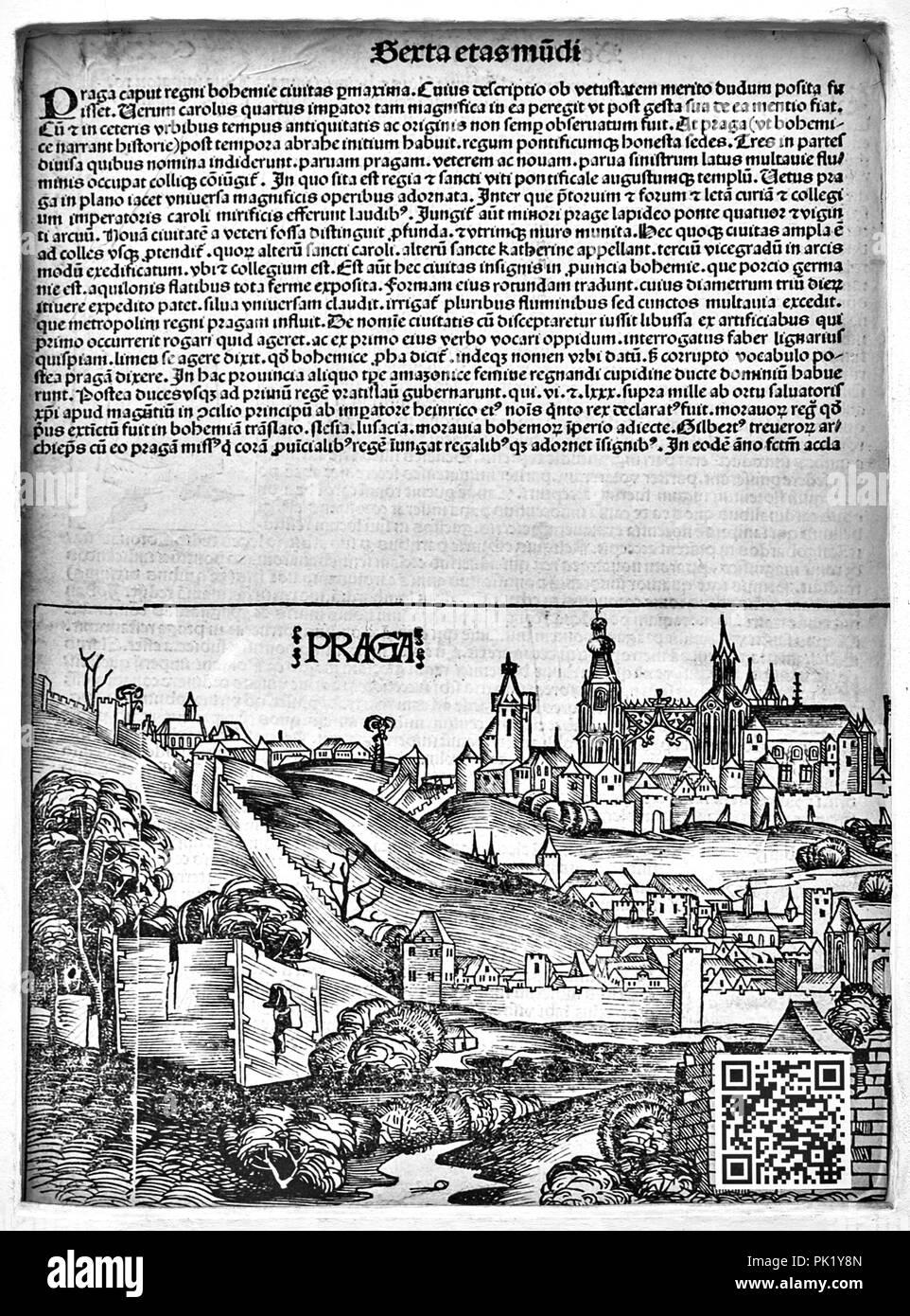 Prague (CHK18) - Stock Image