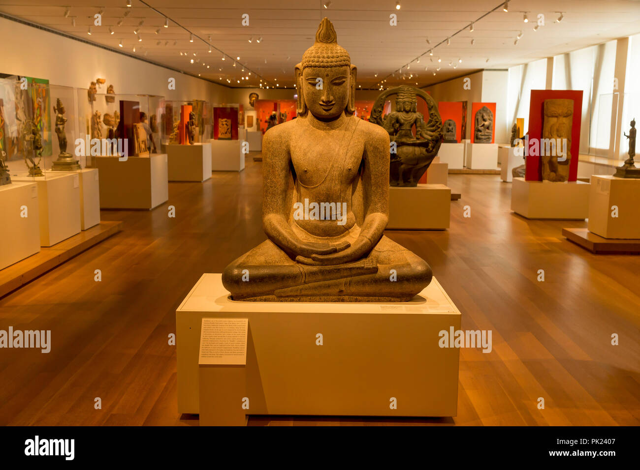 New Gallery of Asian Art, Art Institute of Chicago, Chicago, Illinois, USA, North America, - Stock Image