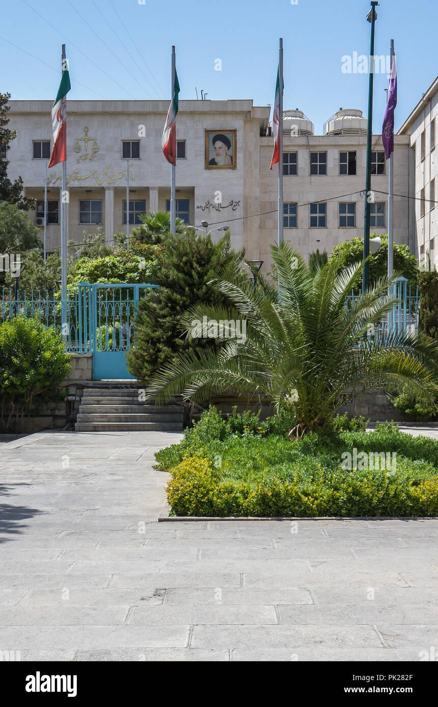 Golestan Palace, Tehran, Iran - Stock Image