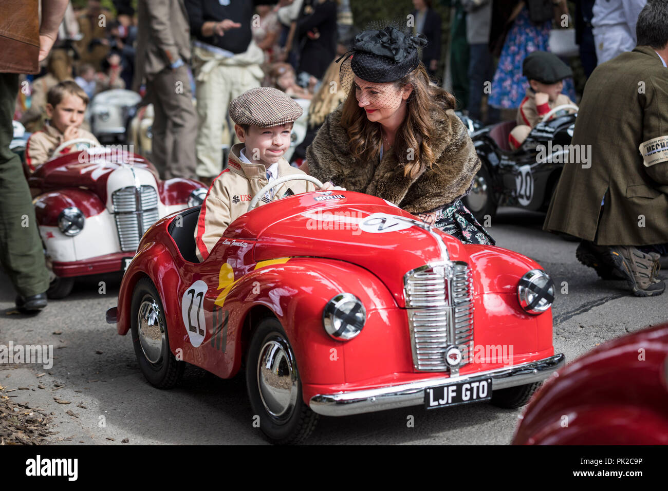Chichester Uk 9th Sep 2018 Like Father Like Son Luca Franchitti Five Son Of Racing Driver