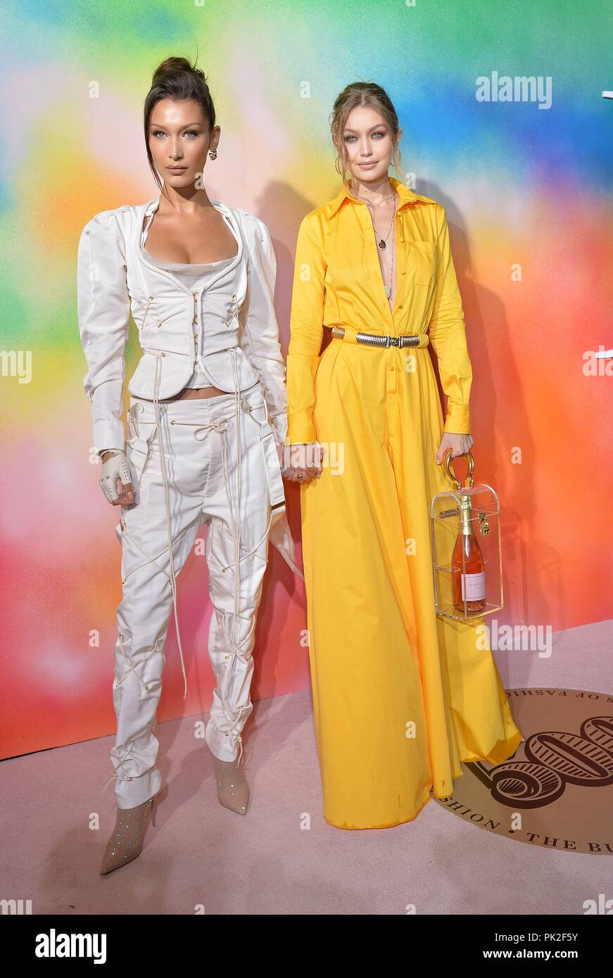 Gigi hadid and bella hadid at business of fashion celebrates the bof500 2019 new images