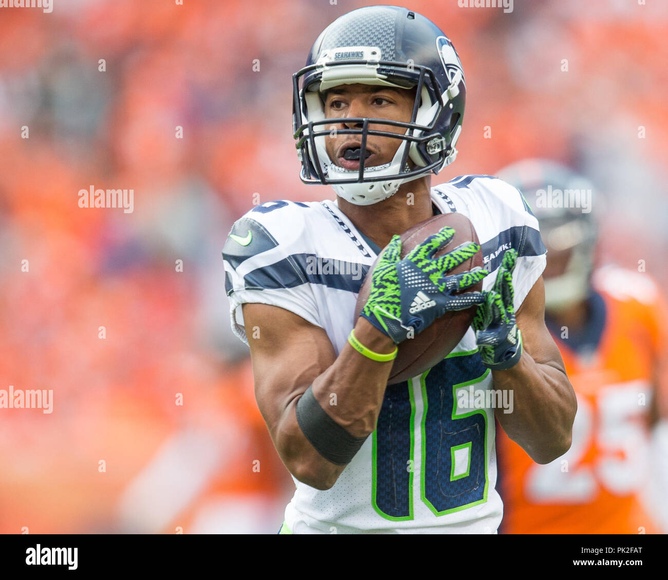 100% authentic f1554 3d0cb September 09, 2018: Seattle Seahawks wide receiver Tyler ...