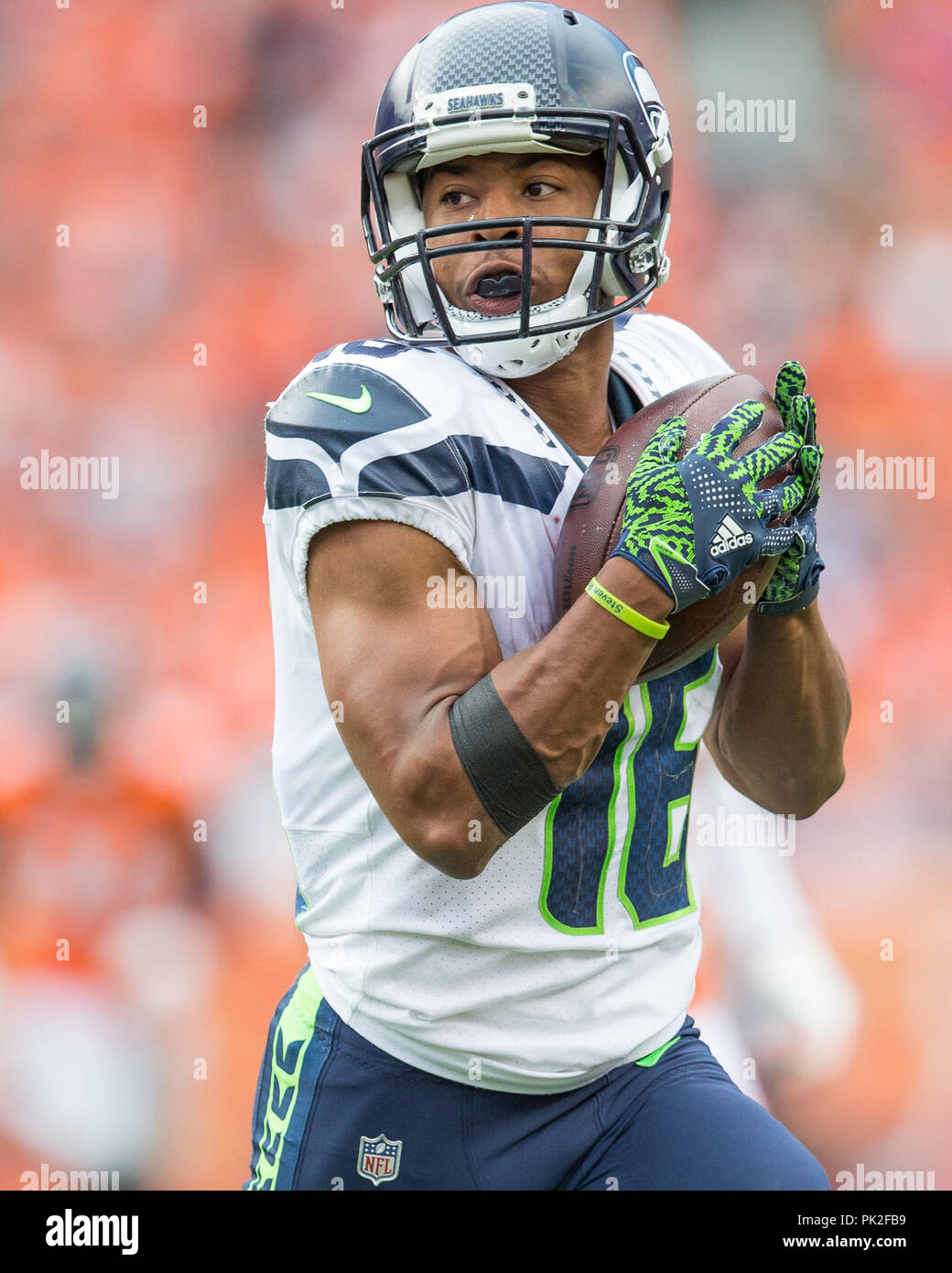 100% authentic 4fc80 bc661 September 09, 2018: Seattle Seahawks wide receiver Tyler ...