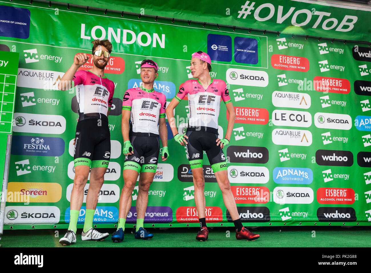 Team Ef Education First Drapac P B Cannondale Stock Photos   Team Ef ... 99c30ac22